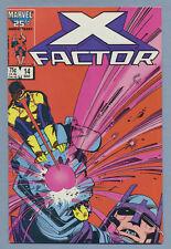 X-Factor #14 (Mar 1987 Marvel) [1st Mention The Twelve] Cyclops vs Master Mold /
