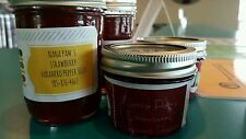 Nana Pam's Habanero Pepper Jelly Strawberry Old Fashion Mason Jar 8oz Half Pint