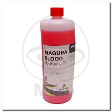 MAGURA CLUTCH FLUID 1L BLOOD RED FOR CLUTCHES 0721821 OEL HYDR RT 1L NEU