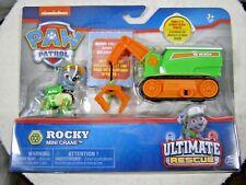 Paw Patrol Ultimate Rescue Rocky And Mini Crane