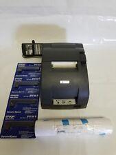 Epson TM-U220D Dot Matrix Receipt Printer w/ Cables