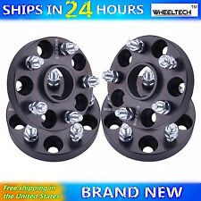 4 Pcs 5x4.5 Black fit 2006-2015 Honda Civic Hub Centirc 1 inch Wheel Spacers