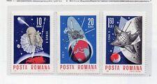 Rumania Espacio Comunicaciones Valores del año 1966 (DR-913)