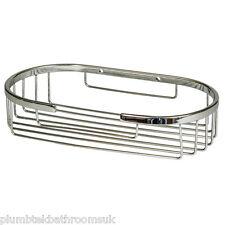 Soap Shower Basket Bathroom Chrome Wire Work Accessories H806