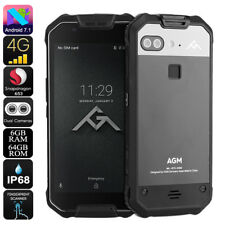 AGM X2 Rugged Phone - Android 7.1, Octa-Core CPU, 6GB RAM, IP68, 1080p Display,