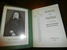 1960 Blessed Marie Rose Durocher Manuel de Prieres Prayers Manual