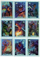 1994 Marvel Masterpieces X-Men Avengers Silver Holofoil You Pick Finish Your Set