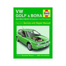[3727] VW Golf Bora 1.4 1.6 1.8 2.0 Petrol 1.9 Diesel 98-00 (R to X Reg) Haynes