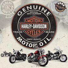 Calendrier 2012 Officiel HARLEY DAVIDSON Motor Oil Motorcycle