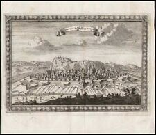 Belgien  Namur  Festung  Kupferstich Ansicht um 1700