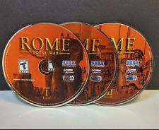 Rome: Total War (PC, 2006) DISCS ONLY