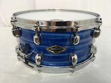 "Tama Starclassic Birch/Bubinga 13"" X 6"" Snare Drum/Lacquer Ocean Blue Ripple/New"