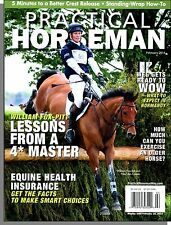 Practical Horseman - 2014, February - Lessons From a Master, Equine Health Ins