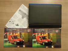 Vauxhall Combo Owners Handbook/Manual and Wallet 06-12