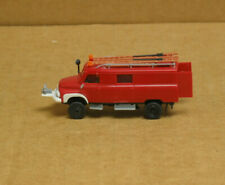 Kibri HO Fire Truck w/front winch, ladders etc.