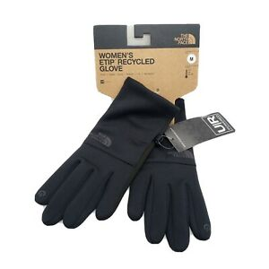 New The North Face Women's ETip Glove -TNF Black - U/R Powered Touch Screen Tips