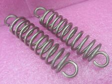 """Lot of 2 Wire Spring Heavy Duty Extension 0.156"""" 0.4cm Hook to Hook 5.25"""" Strong"""