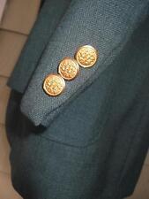 Green Augusta masters gold button Haggar blazer 40L