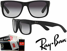 RAY-BAN ORIGINAL SQUARE GRADIENT POLARIZED BLACK/GREY RB4165 55 16