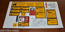 POSTER STICKER MASSEY FERGUSON MF 235 240 245 255  260 265 275 285 290 ORIGINAL