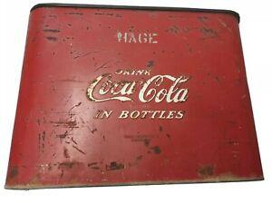 VINTAGE 1950`s COCA COLA AIRLINE COOLER