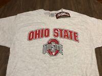 Ohio State University OSU Buckeyes Large Gray T Shirt NEW With Tag