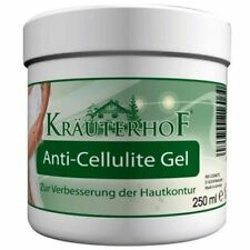 Krauterhof Anti Cellulite Gel Caffeine, Carnitine & Rosemary Extract 250 ml Free