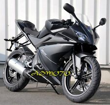 Matte Black Fairing Panel Kit For Yamaha YZF-R125 2008 2009 2010 2011 2012 2013