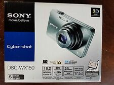 Sony Cyber-shot DSC-WX150 18.2MP Digital Camera - Black
