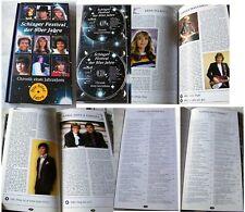 SCHLAGER FESTIVAL DER 80ER JAHRE .. 4 CDs + 100 Seiten Foto-Buch TOP