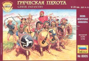 Zvezda 1/72 Greek Infantry # 8005