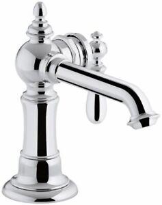 kohler artifacts single hole single-handle bathroom faucet chrome W/Drain