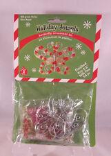 "Beaded Christmas Butterfly Ornament Kit NIP 2 2 1/2"""