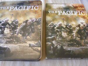 The Pacific (DVD, 2010, 6-Disc Set) Steel Book / Case Region 4