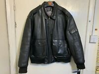 AVIATION LEATHER CRAFT TORNADO AIR FORCE JACKET SIZE 52 R / 3XL MADE IN ENGLAND