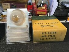 NOS Lincoln 1956-1957 Taillight Inner Reflector/Prism Tail Light