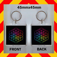 A HEAD OF FULL DREAMS  - COLDPLAY - 45X45 mm KEYRING - CD COVER #1