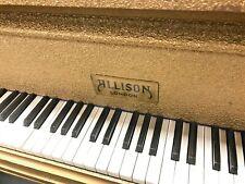 SELTENER VERGOLDETER Flügel Stutzflügel Salonflügel Pianoforte Piano Studioflüge
