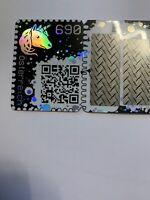 Österreich Crypto Stamp Grün Briefmarke Ethereum Blockchain