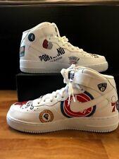 uk availability b711f 44111 Supreme X NBA X Nike Air Force 1 Mid White