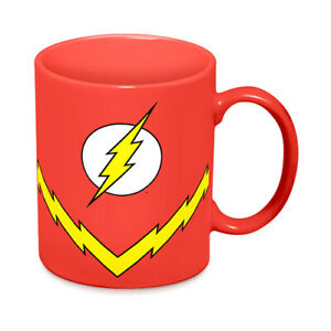 DC COMICS THE FLASH COSTUME COFFEE MUG GIFT BOXED