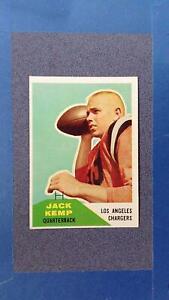 1960 Fleer #124 JACK KEMP RC EXMT  Los Angeles Chargers ~JY13
