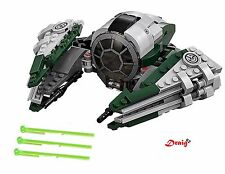 Lego Star Wars - Yoda's Jedi Starfighter from 75168 - *NEW* - NO MINIFIGURES*