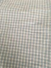 Ralph Lauren 100% cotton light teal twin sheet set with 2 pillowcases EUC