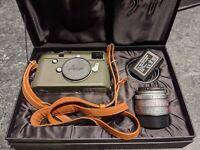 *RARE* Leica M-P Typ240 Camera With Summicron M 35mm F2 Asph Safari Edition