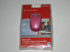 NEW! Microsoft Compact Optical Mouse 500 Wired USB Plug and Play PC/MAC