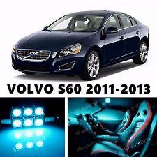 12pcs LED ICE Blue Light Interior Package Kit for VOLVO S60 2011-2013