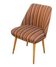 60er Jahre Club Sessel, Lounge Sessel , Design Stuhl gestreift , Streifen Muster