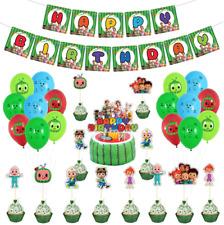 cocomelon Birthday Party Decoration, Cocomelon Party Supply, Cocomelon Balloon