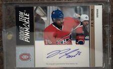 2010-11 Pinnacle  Rookie Team Pinnacle Signatures Subban/Ekman-Larsson card # 5